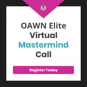 Monthly Virtual Mastermind Calls are one of many perks available to OAWN Elite members.