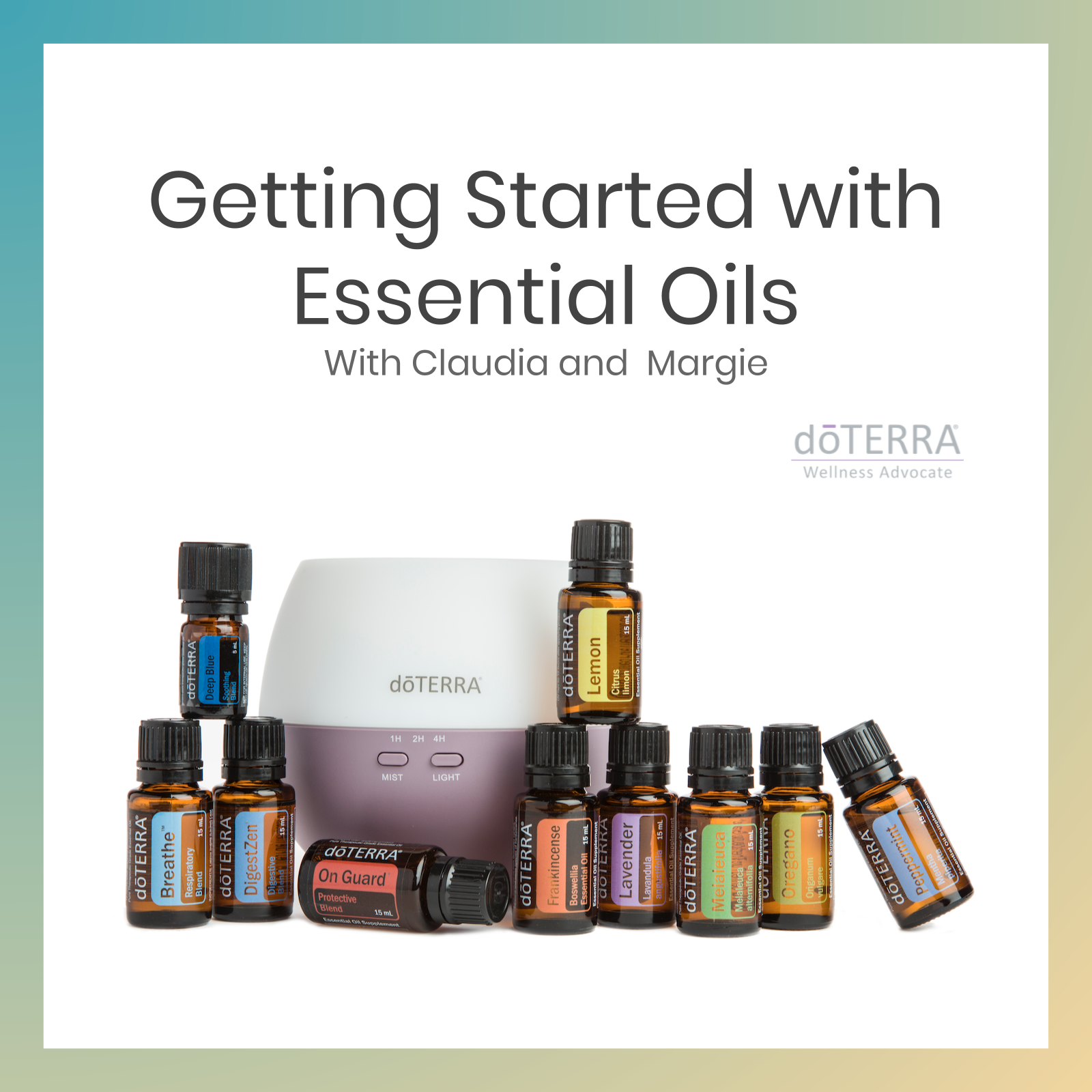 Getting started with Essential Oils